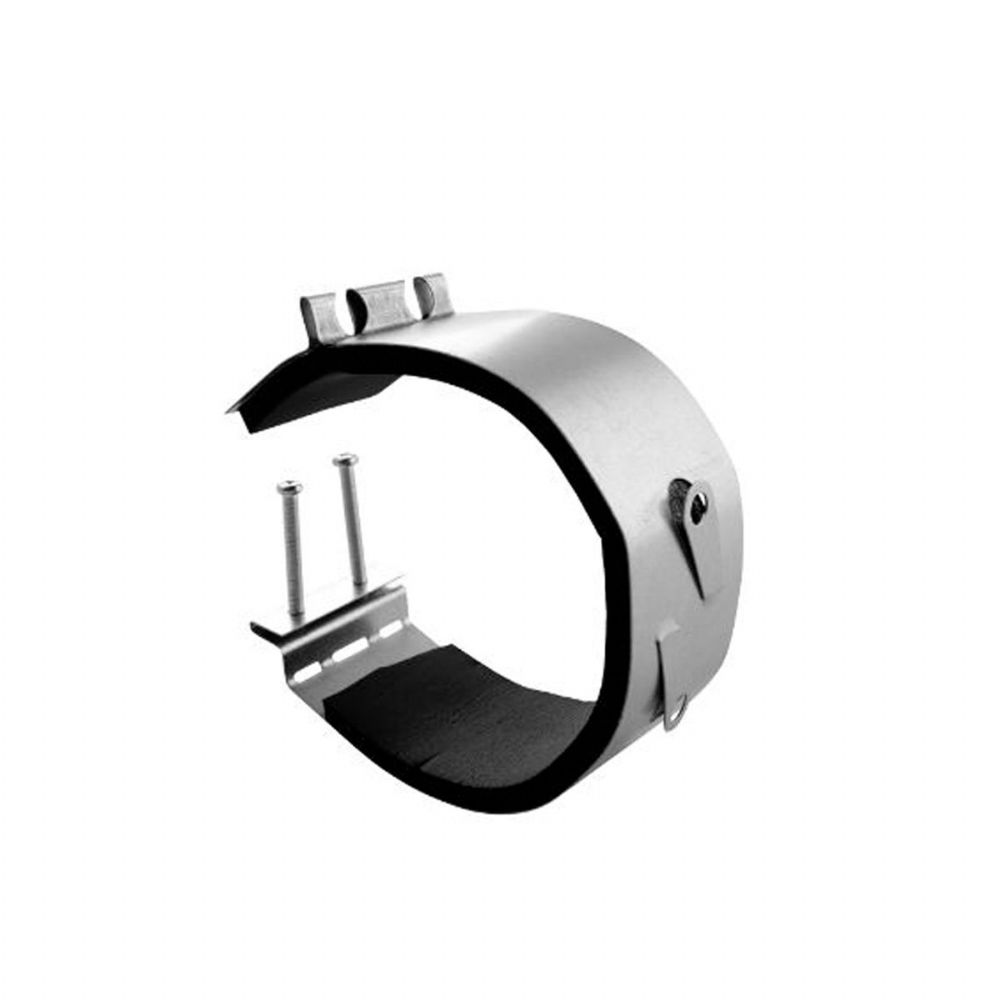 S&P Spiral Ducting Fast Anti-Vibration Clamp With Mounting Screw Clips 125mm